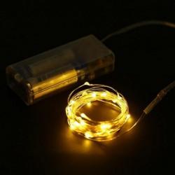 LED LUZ DE FADA 2M AMARELO
