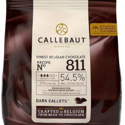 CHOCOLATE DARK MOEDAS 54,5% 400G CALLEBAUT