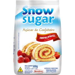 ACUCAR DE CONFEITEIRO SNOW SUGAR 500G MAVALERIO
