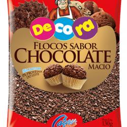 FLOCOS MACIO CHOCOLATE 130G CACAU FOODS