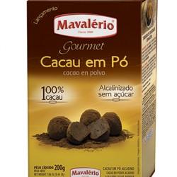 CACAU EM PO ALCALINO 200G MAVALERIO