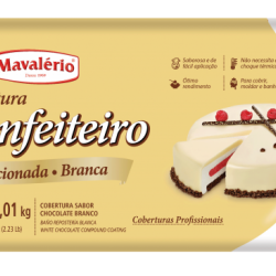 COBERTURA CONFEITEIRO BRANCO 1,01K  MAVALERIO