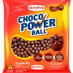 CHOCO POWER BALL 80G AO LEITE MAVALERIO