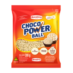 CHOCO POWER BALL BRANCO 300G MAVALERIO