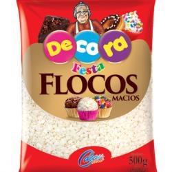 FLOCOS MACIO CHOCOLATE BRANCO 500G CACAU FOODS