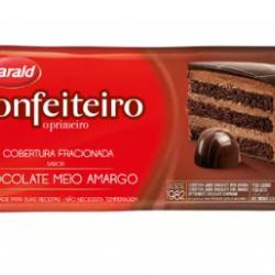 COBERTURA FRACIONADA CONFEITEIRO MEIO AMARGO 1,05KG HARALD