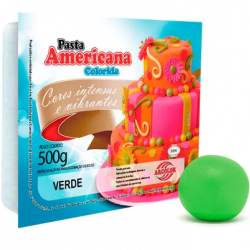 PASTA AMERICANA VERDE 500G ARCOLOR